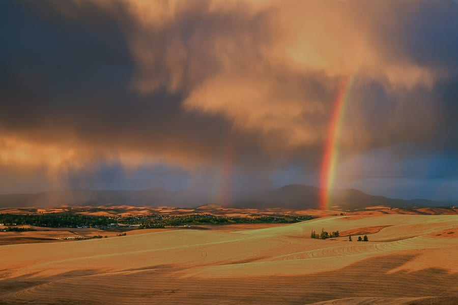 Palouse Harvest Photo Workshop Rainbows Moscow