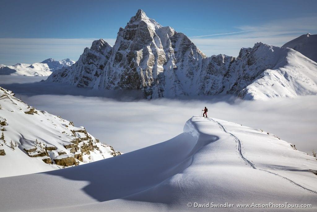 Canadian Rockies Backcountry Skier