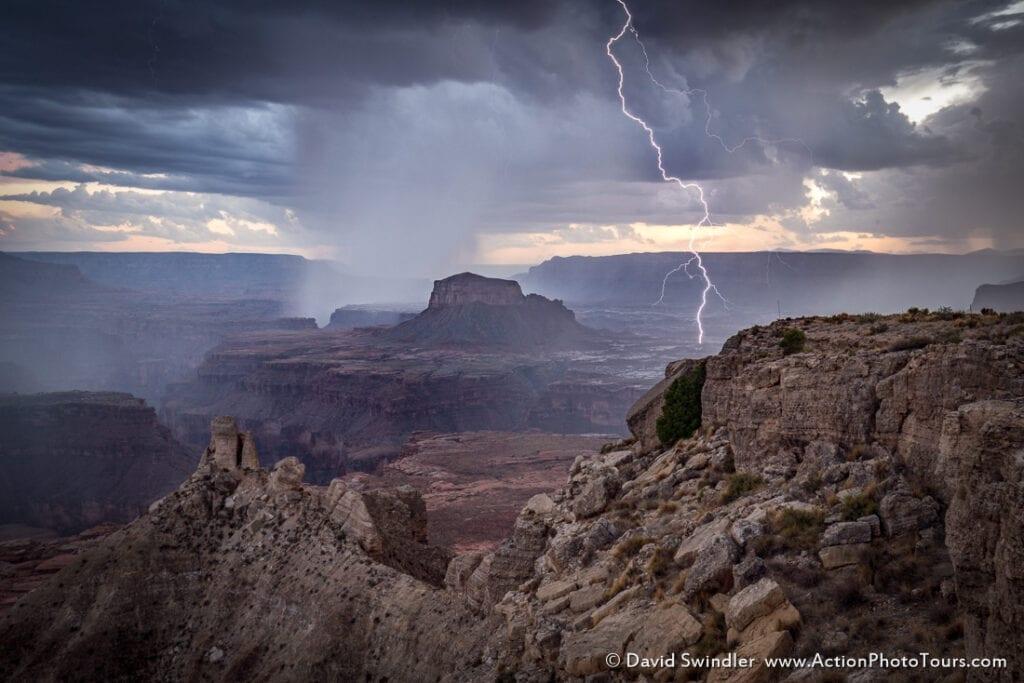 Lightning Weather Capturing Landscape Images