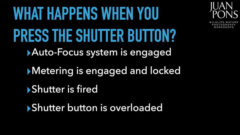Shutter Button Actions