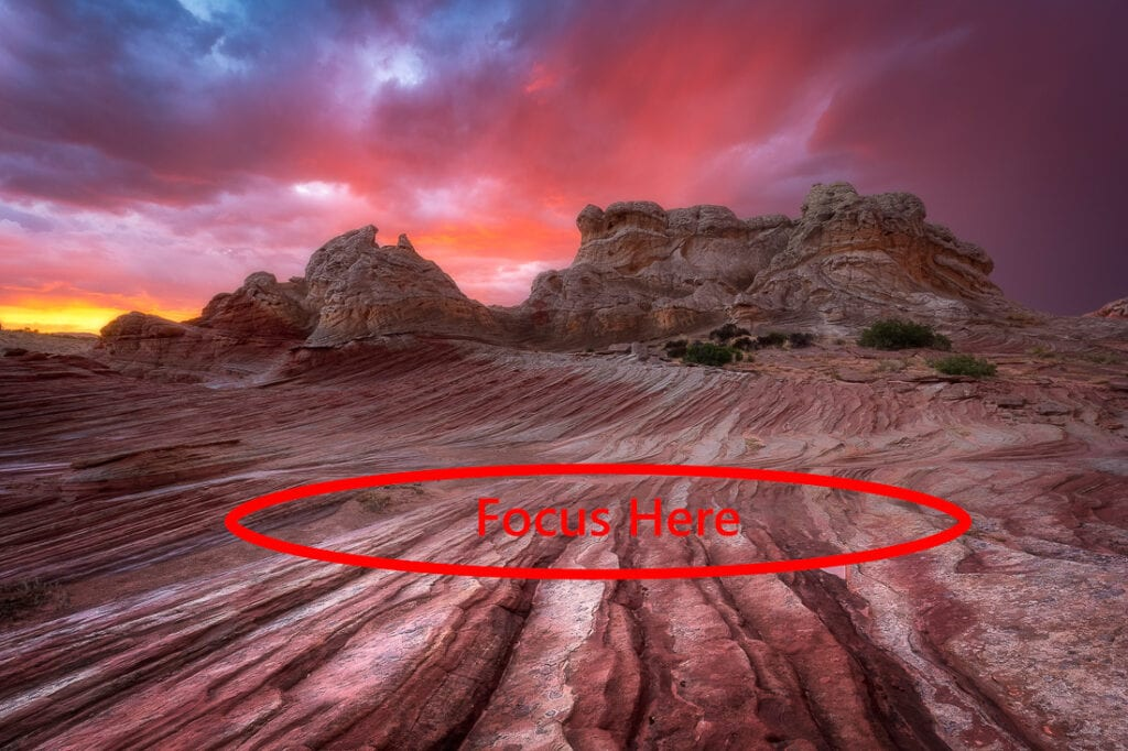 Where to Auto Focus in Landscape Photography