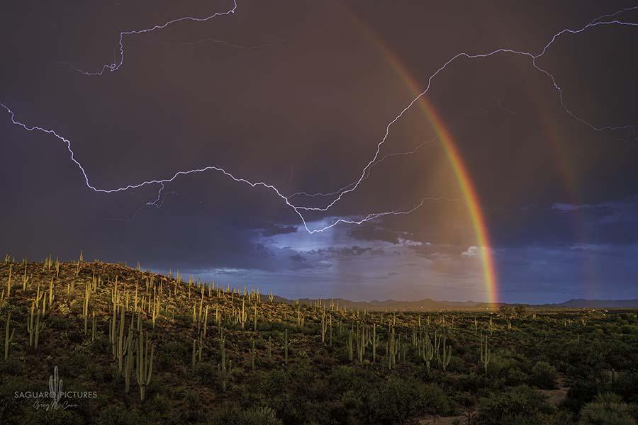 Rainbow and Lightning - Greg McCown