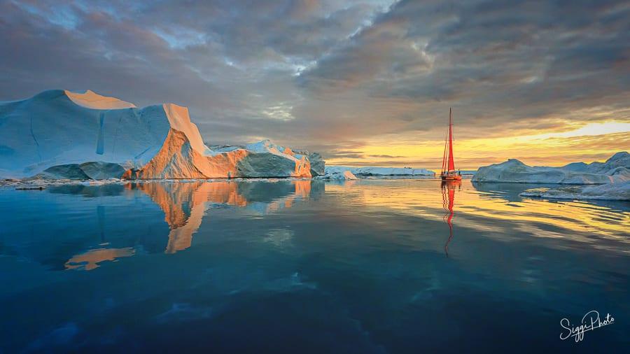 Iceberg Reflections - Greenland