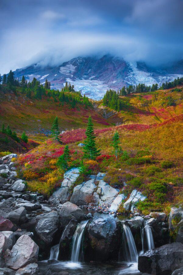 Myrtle Falls - Mount Rainier
