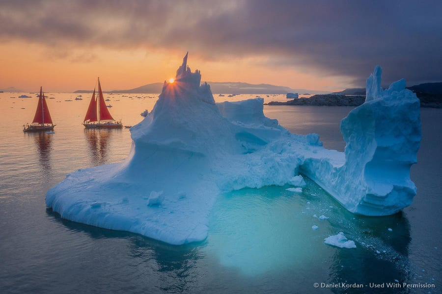 Disko Bay Icebergs