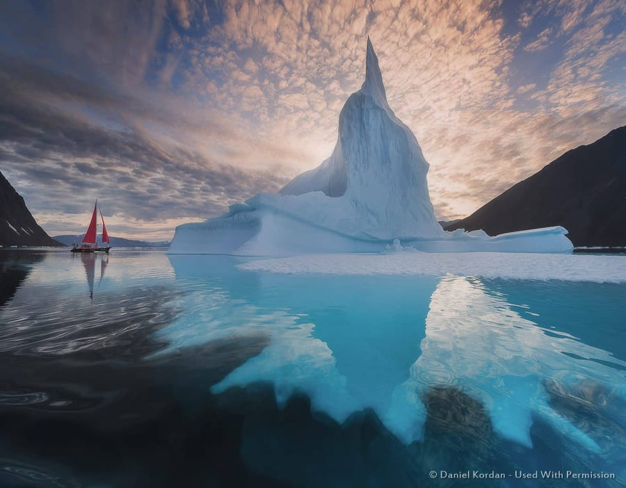Iceberg Reflection - Greenland
