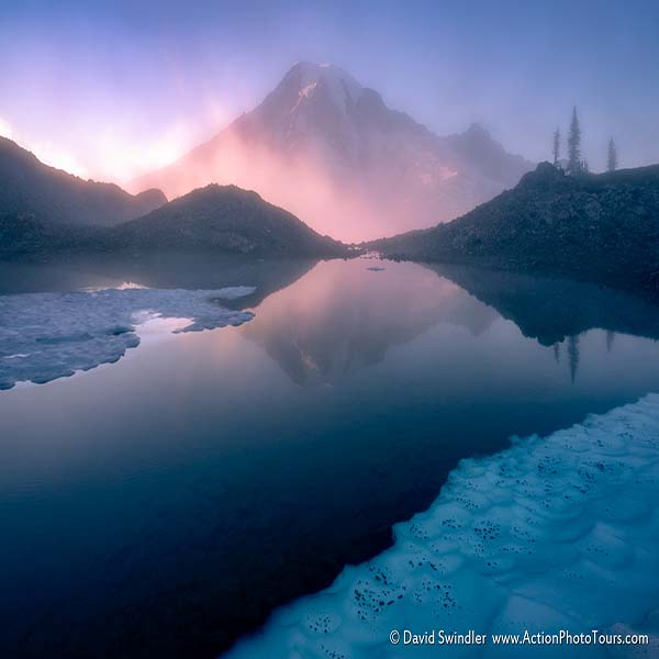 Misty Mountain - Mt Rainier