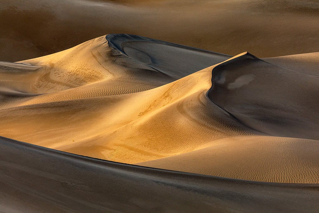 Third Place Action Photog Awards John Pearse Death Valley Sand Dunes