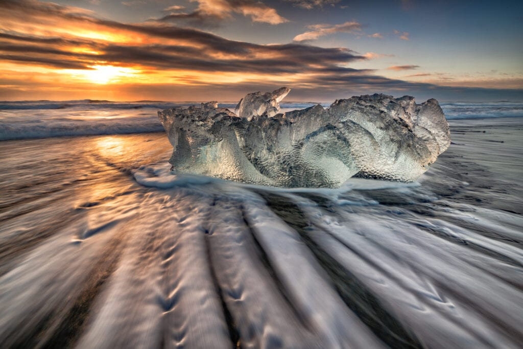 Diamond Beach Sunrise - Scott Bennett
