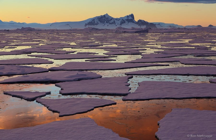 Antarctica Photo Workshop Ice Field