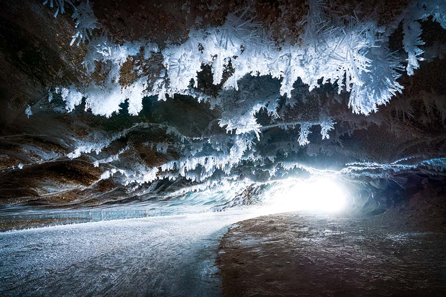 Ice Cave - Nickolas Warner