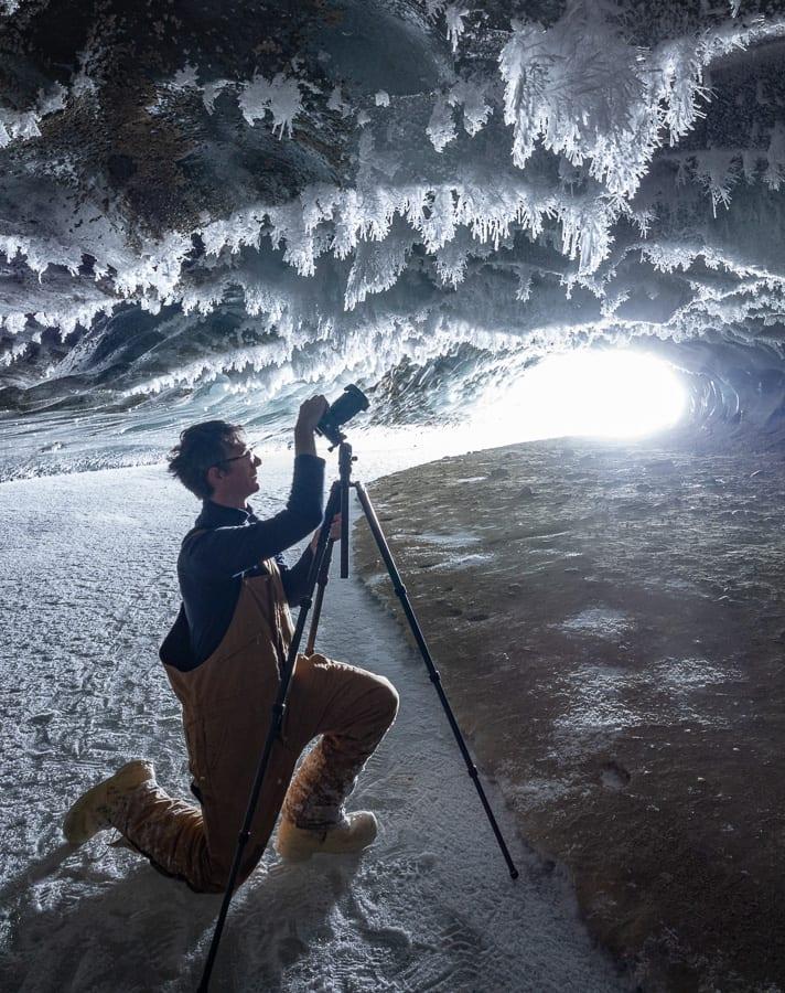 Nickolas Warner Ice Cave Tripod