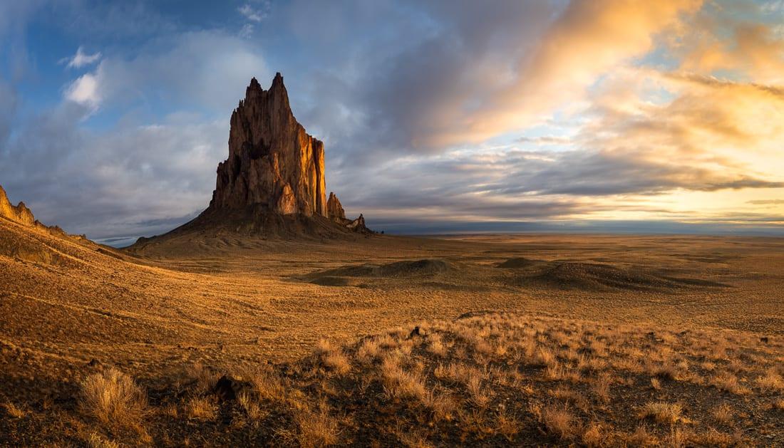 Shiprock New Mexico Bisti Badlands Photo Workshop