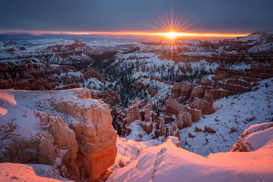 Bryce Canyon Winter Sunrise
