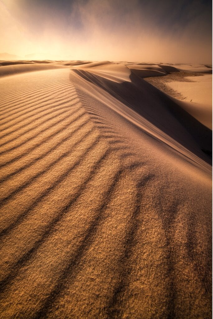 tips and tricks for sand dune photography