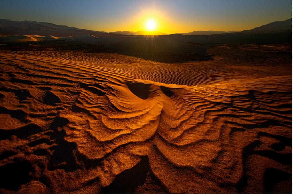 sand dune photography ripples photographing