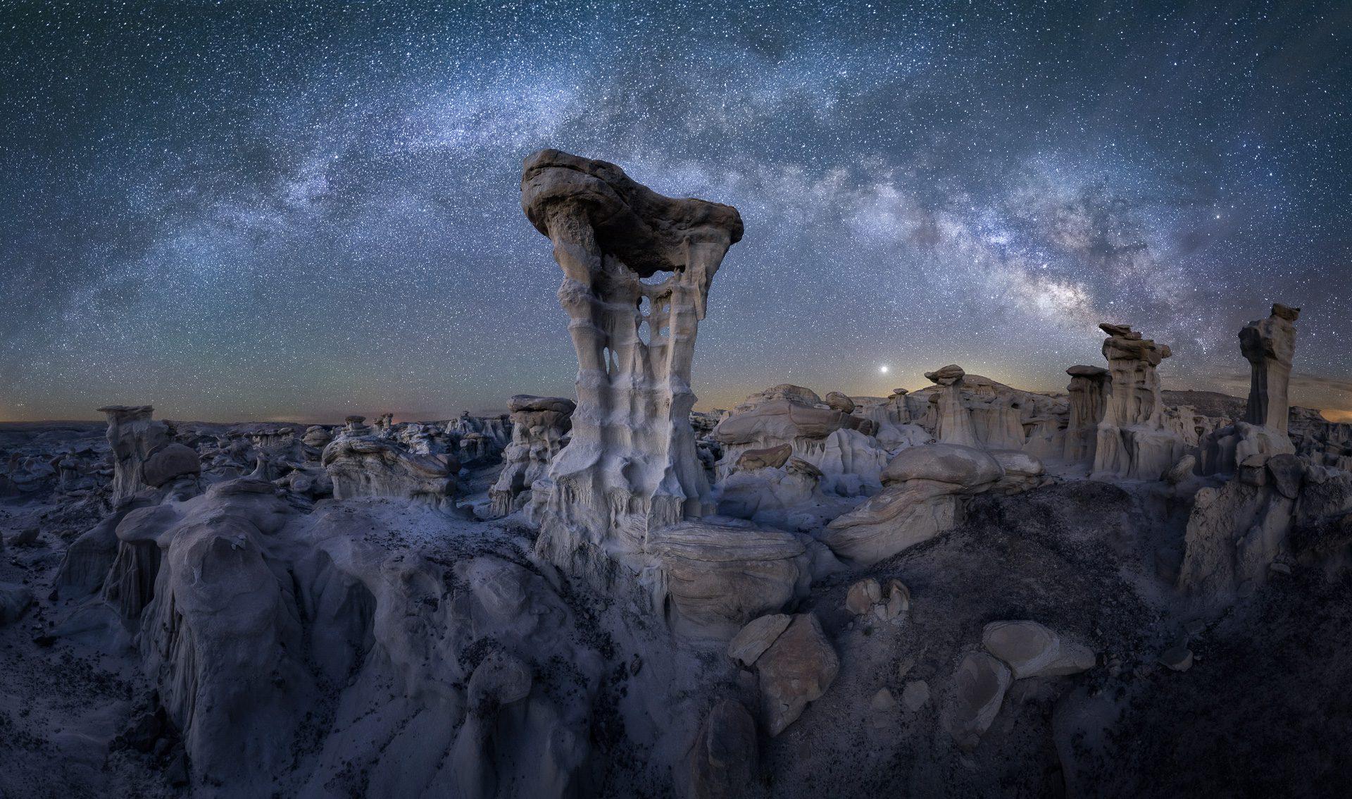 Alien Milky Way
